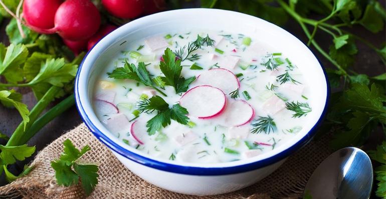 холодные супы на лето— рецепты